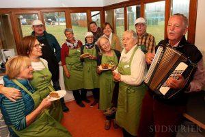 Dingelsdorfleben Mittagstisch - sogar mit Gesang
